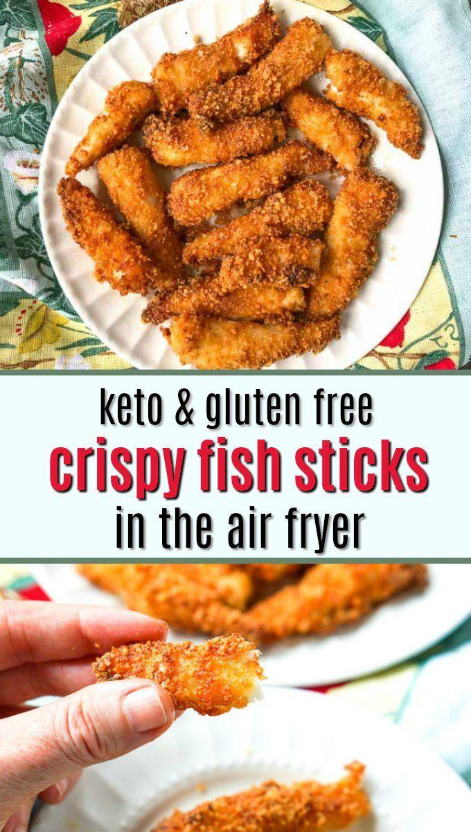 Keto Air Fryer Fish Sticks Recipe Seafood dinner, Air