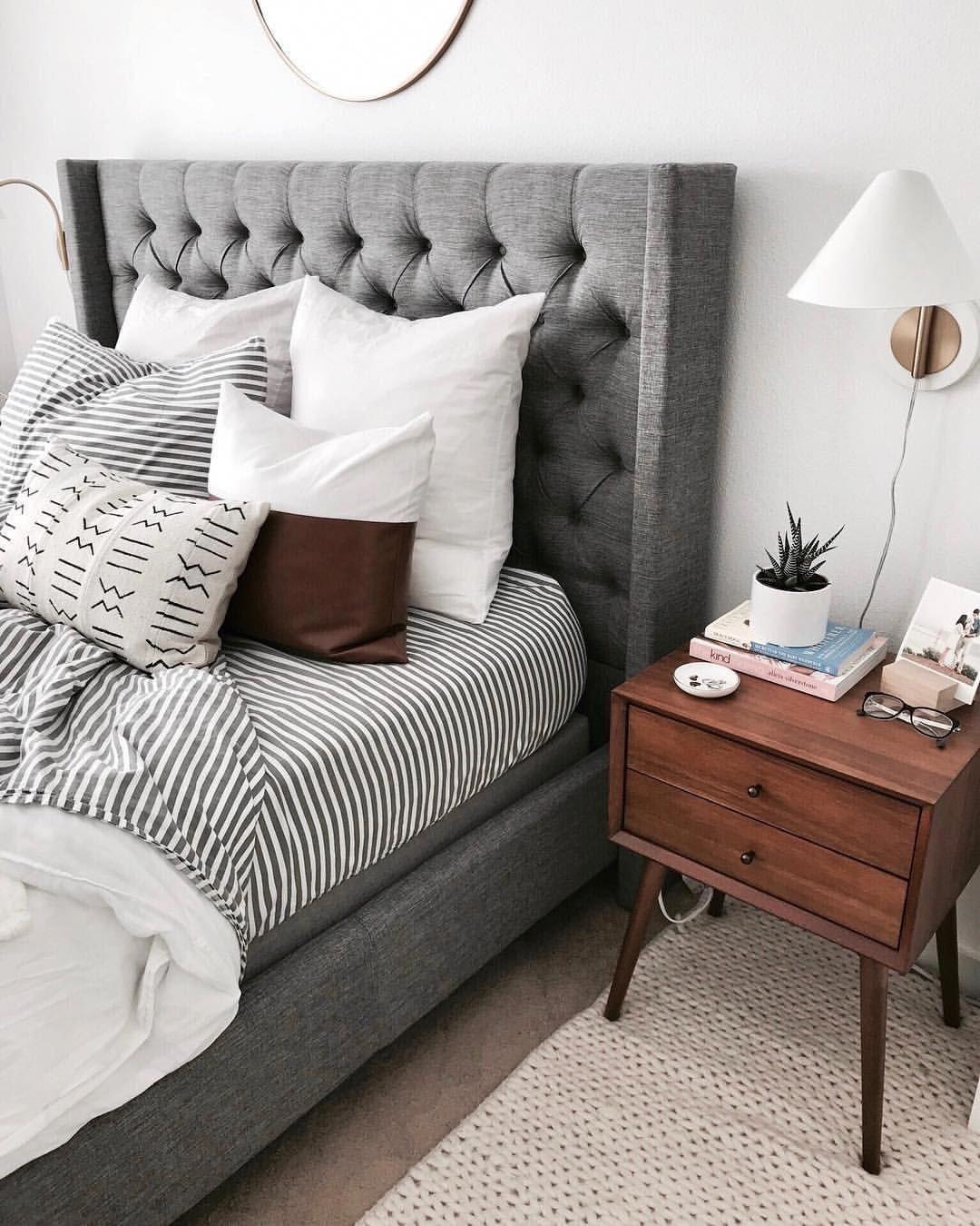 Grey Bedroom Ideas With Calm Situation: 8 Calm Ideas: Minimalist Home Style Grey Minimalist Decor