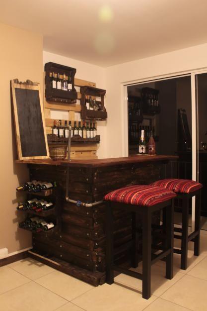 Barras para bar dise os unicos madera preciosas bares - Barra de bar madera ...