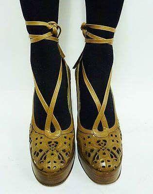 Vintage Biba Platforms Vintage Shoes Shoes Women Heels Biba Fashion