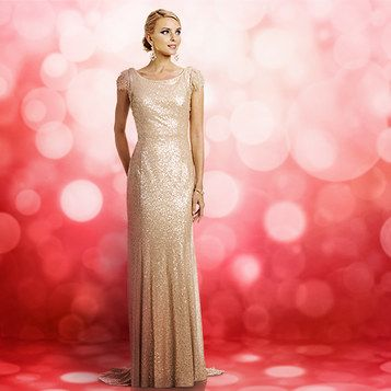 New Year's Eve, holiday party—whatever the occasion, you're sure to own it in one of these glamorous dresses.