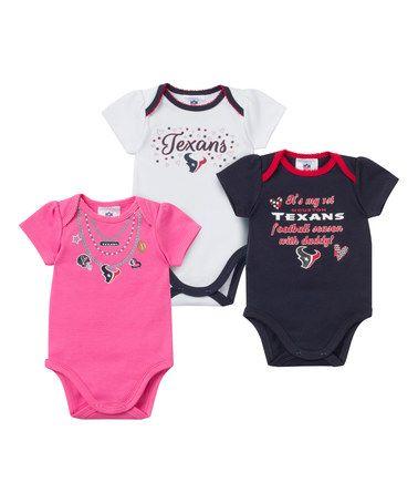 Houston Texans Bodysuit Set - Infant  zulily  zulilyfinds  9443d5d48