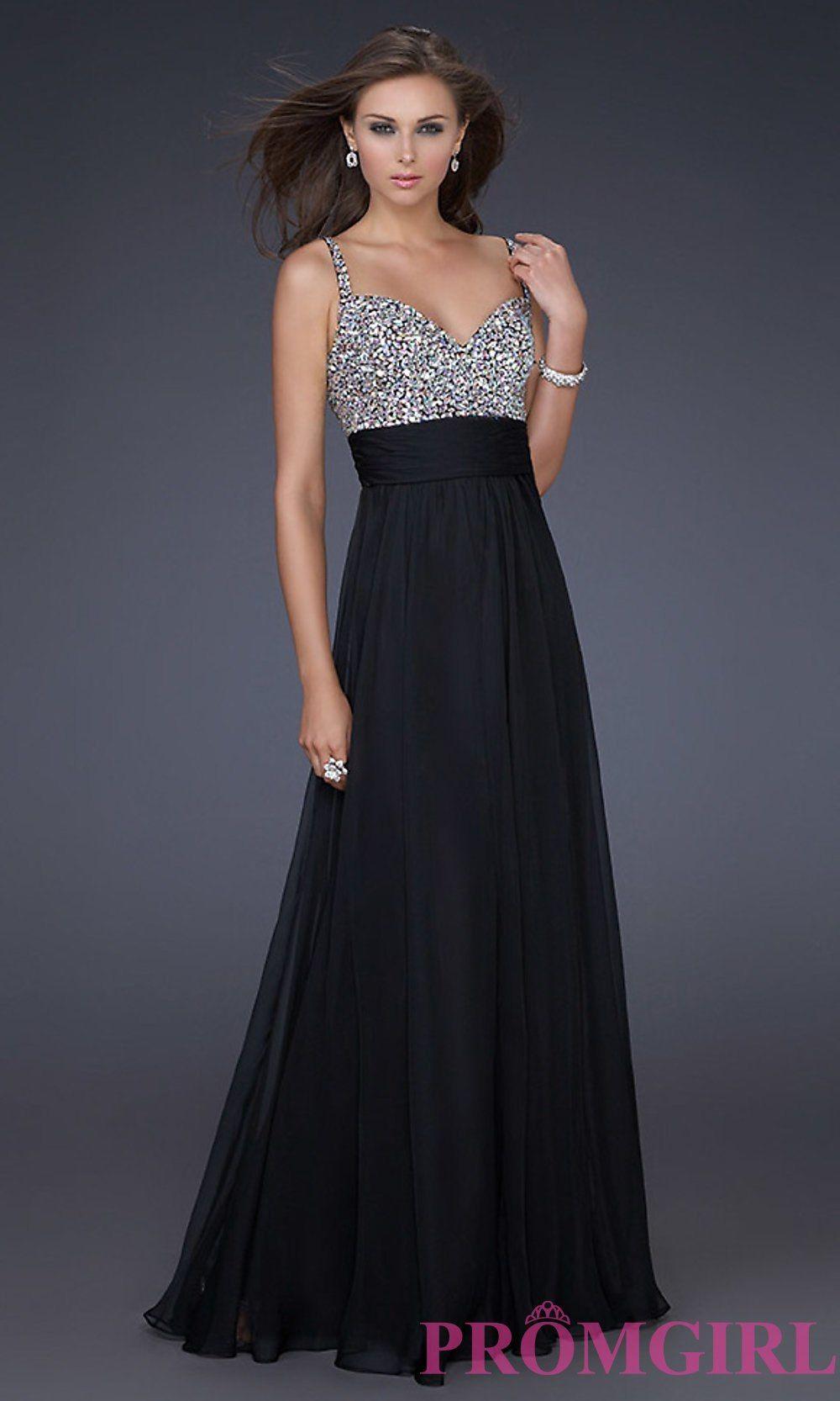 Floorlength la femme prom dress promgirl fashion pinterest