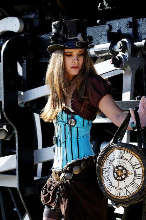 "steampunk-divas: "" Steampunk "" Learn how to make steampunk jewelry"