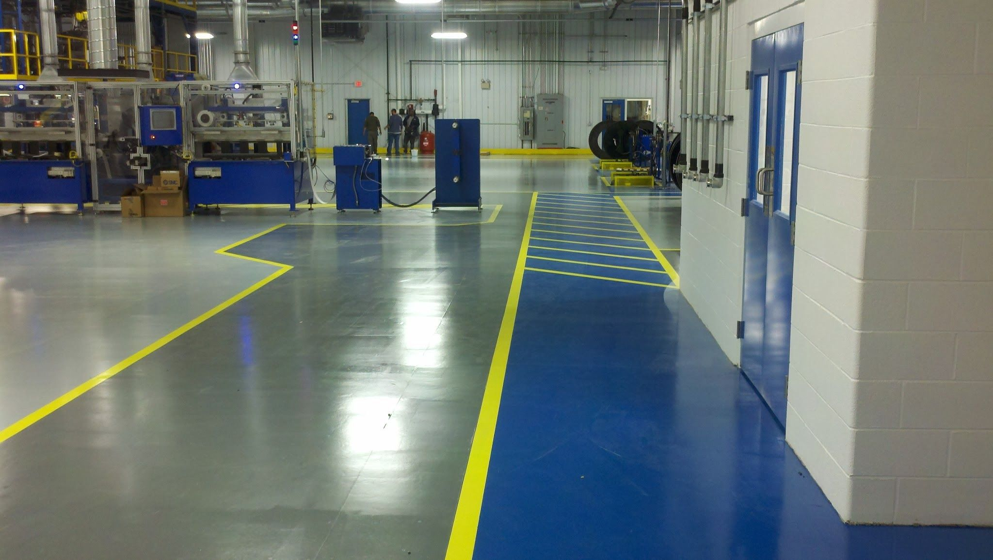 The Right Flooring For The Food Processing Industry Manufacturing Industry Plays A Great Role In Providing A Fo Epoxy Floor Coating Epoxy Floor Floor Coating