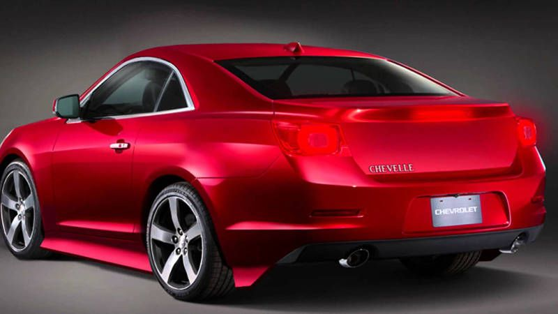 2016 Chevrolet Chevelle Ss My Style Pinterest
