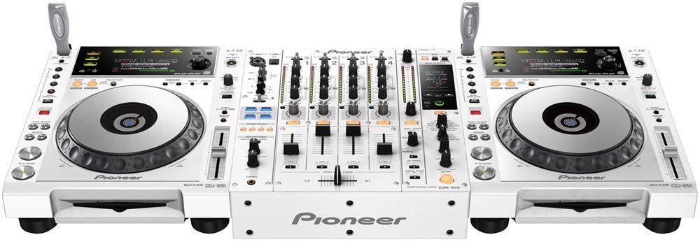 Amazon com: Pioneer (2) CDJ 850 W & (1) DJM 850 W Package