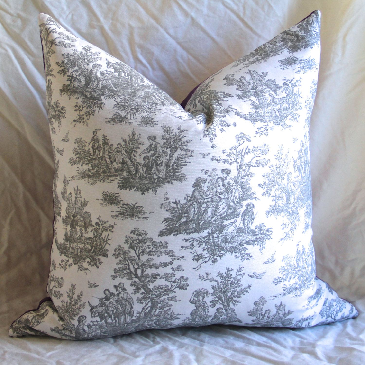 Chinoiserie Pillow Cover Outdoor Pillow Cover Asian Pillow Spa
