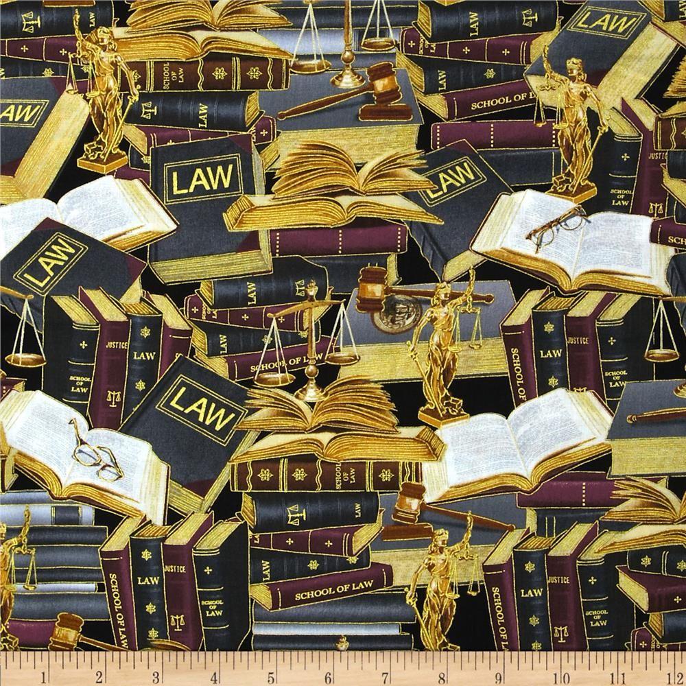 John Cotton Books: Kanvas Law Library Metallic Multi