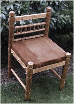 Merovingian Female Grave Goods Chair (repro)