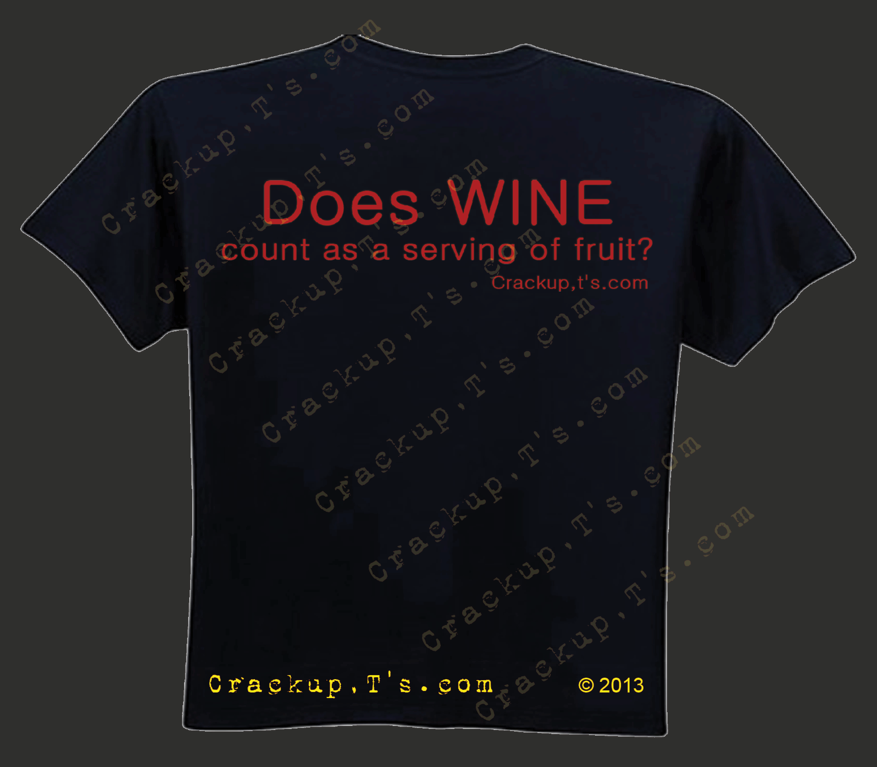 Does WINE Count as a Serving of Fruit    Crackup,T's.com | www.crackupts.com