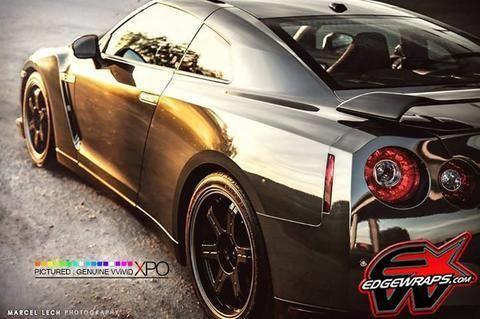 Details about XPO Supercast Black Conform Chrome vinyl car