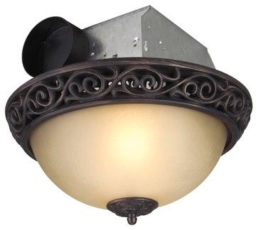 Craftmade Oil Rubbed Bronze Bathroom Ventilation W 2 Light 60w Traditional Bathroom Exhaust Fans Fan Light Bathroom Fan Light Exhaust Fan
