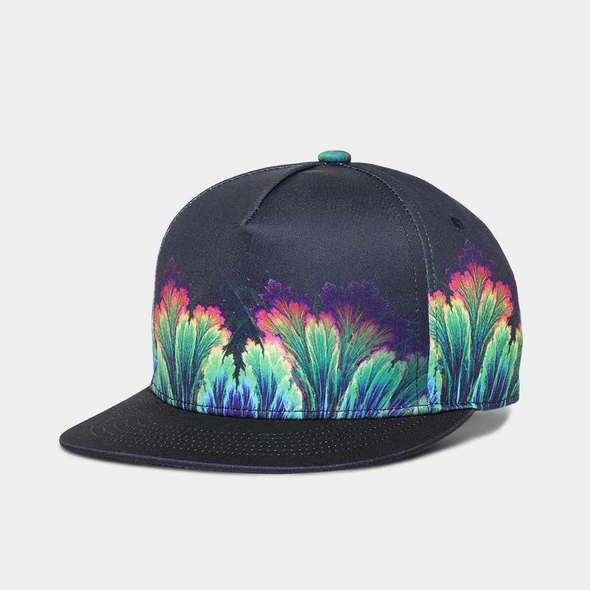 Zadu Men S Snapback Osaka Streetwear Hat Print Flat Bill Hats Hip Hop Cap