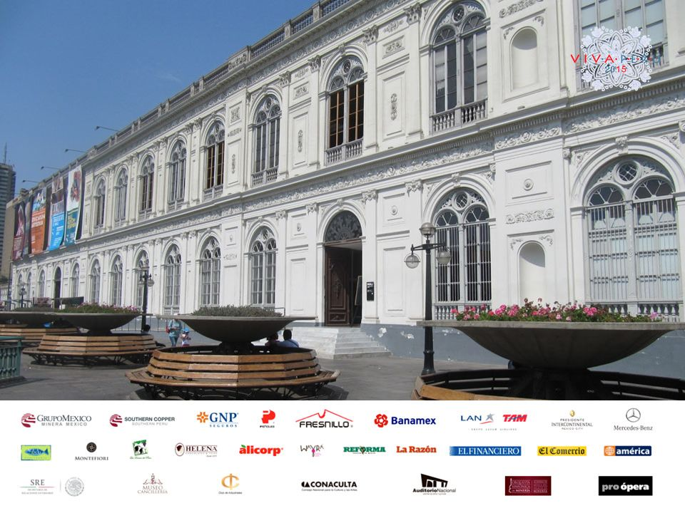 #peruenmexico VIVA EN EL MUNDO. El Museo de Arte de Lima, presenta una colección que abarca más de 3000 años de arte en Perú y se encuentra ubicado en el Paseo Colón frente al Museo de Arte Italiano. Este majestuoso museo, cuenta con 4,500 m2 de exposiciones permanentes y temporales. Le invitamos a conocer las actividades con las que contaremos en la edición 2015 de VIVA PERÚ en México. www.vivaenelmundo.com