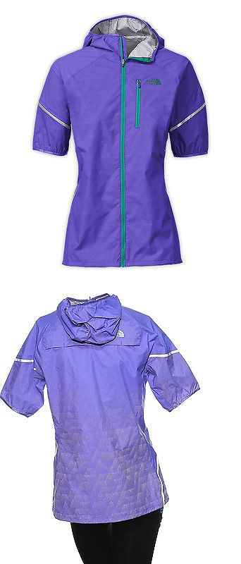 5a3aaaa61043 Jackets and Vests 59285  Womens The North Face Ultra Lite Waterproof Jacket  Short-Sleeve Purple Medium -  BUY IT NOW ONLY   45 on eBay!