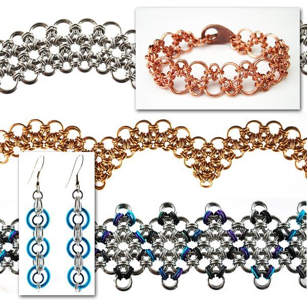 Chainmaille+Patterns+for+Beginners | Class - 3-Week ...