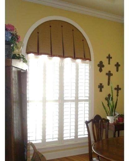 pin para windows arched drapes resultado imagen for tailored de arch