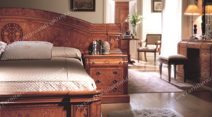 Italian Furniture Stores: Maplewood Italian Bedroom Furniture