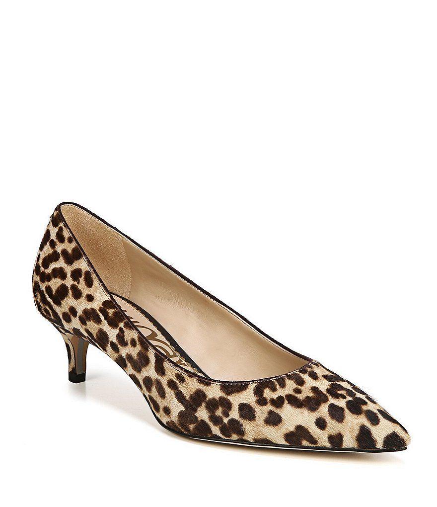 Dori Zebra Print Kitten Heel Pumps Kitten Heels Kitten Heel Pumps Sam Edelman Shoes