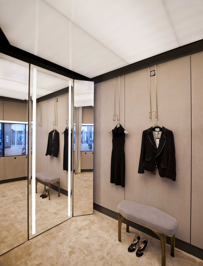 Fitting Room Designs For Retail: Selfridges Personal Shopper Fitting Room