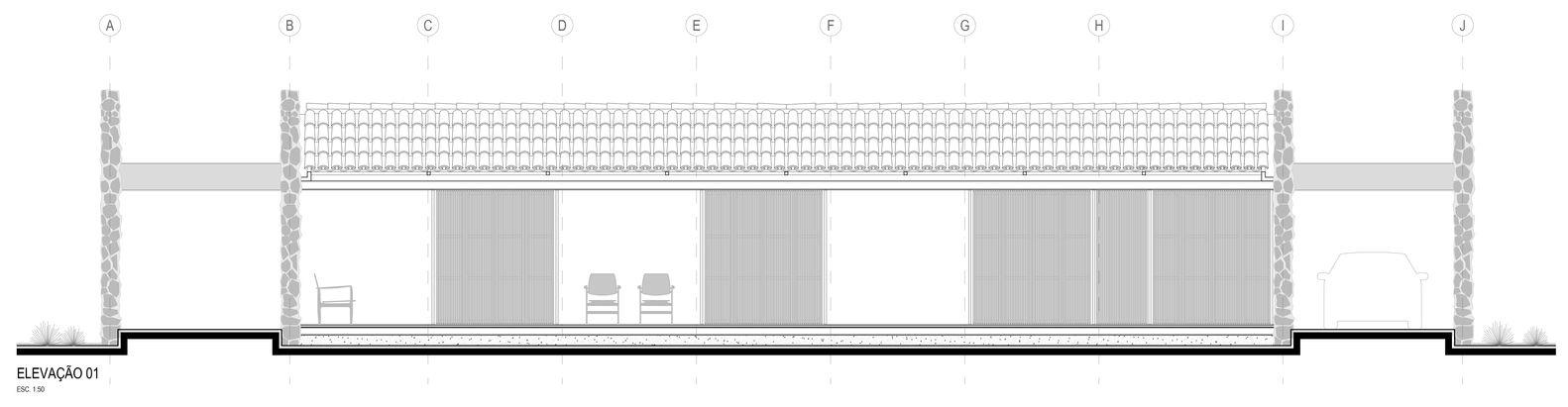 Galería de Casa ER / Estúdio MRGB - 28