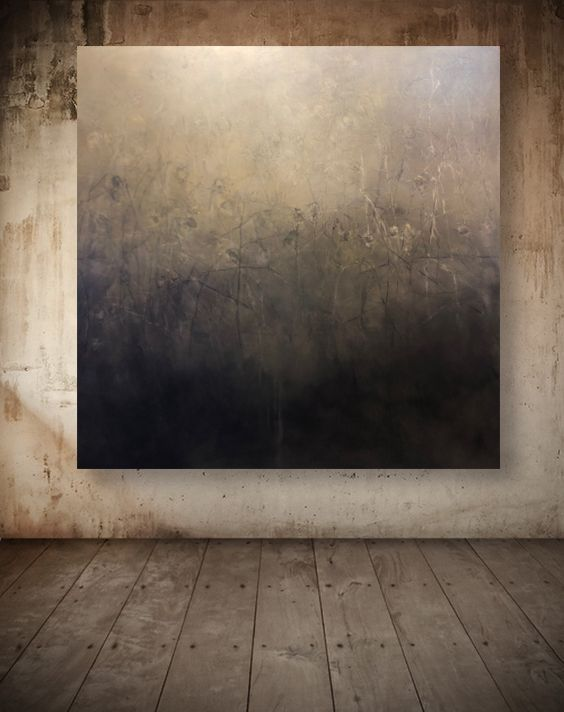 Rose Hip 60x60 Quot Oil On Canvas Atmospherically Atmospheric Original Painting Atmospheric Monochrome Malerei Abstrakte Kunst Gemalde Malerei Inspiration