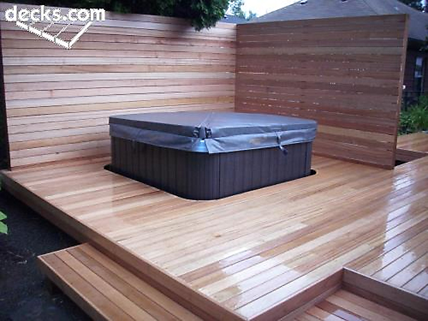 Deck it Out - Hot Tub and Spa Decks