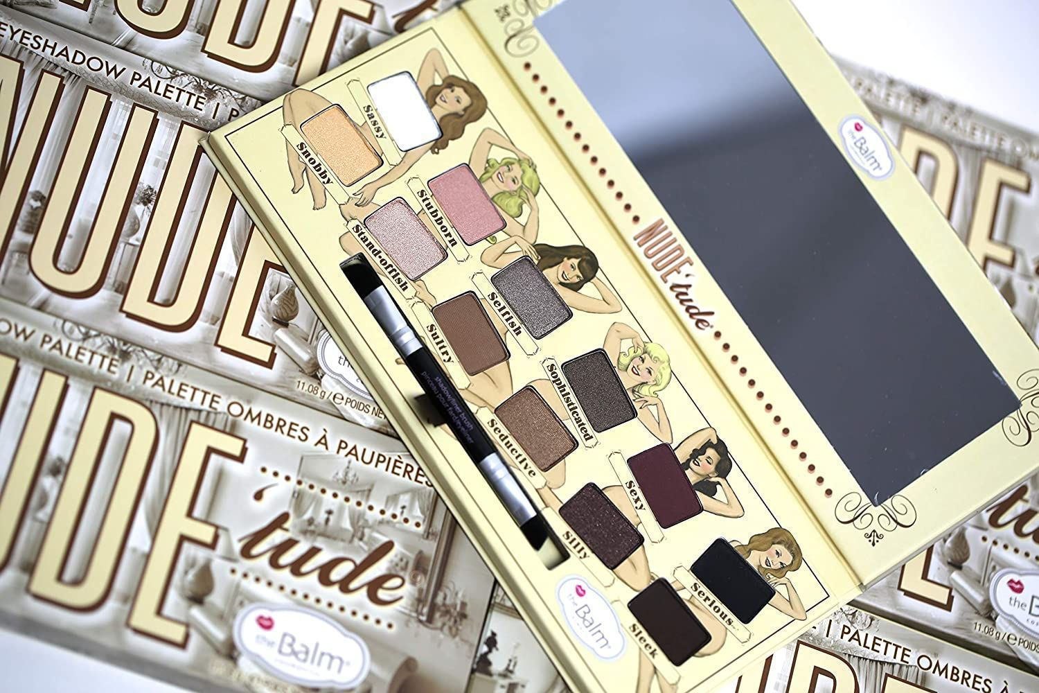 theBalm Nude tude Nude Eyeshadow Palette Review and