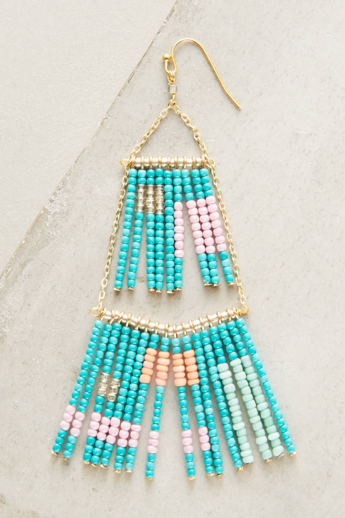 Lake Erie Chandelier Earrings | Lake erie, Chandelier earrings and Beads