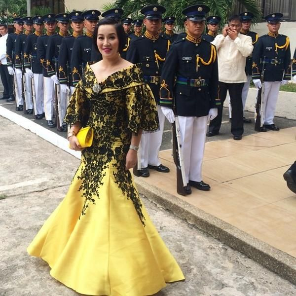 Cary Santiago gown for SONA | KrisAquino.net | Things to Wear ...