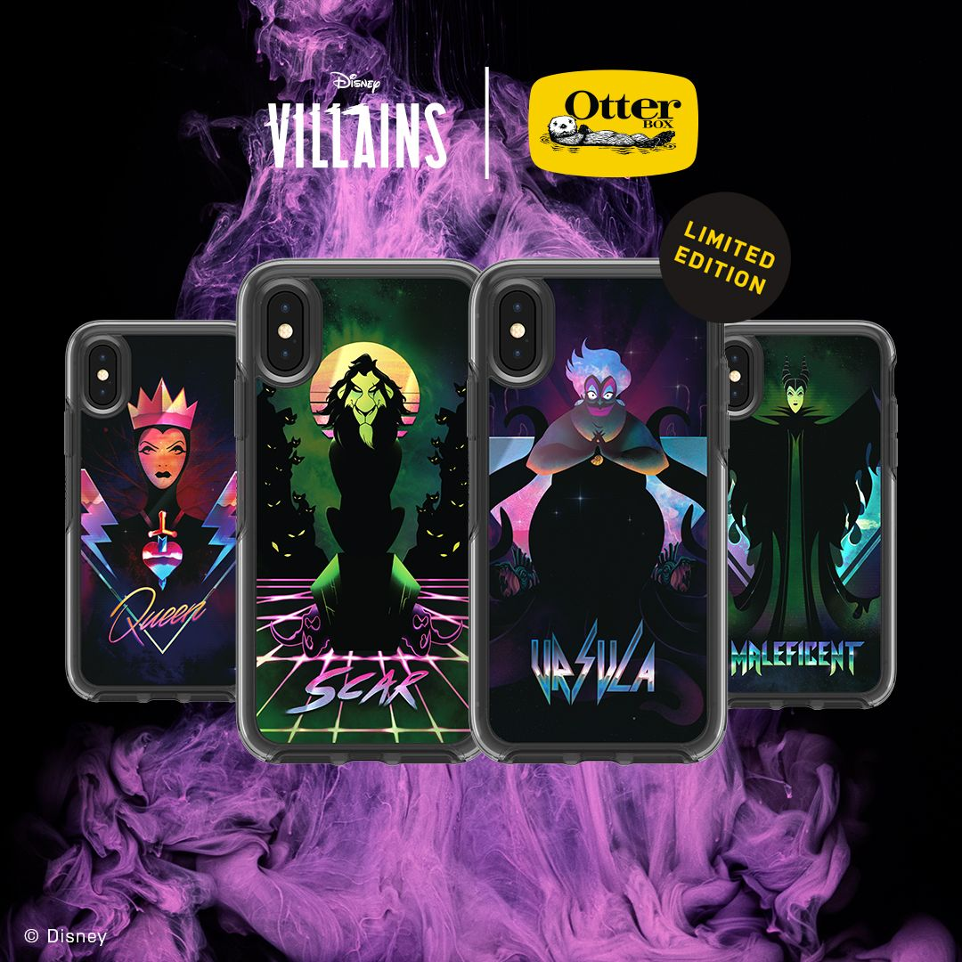 Disney Villains cases x OtterBox
