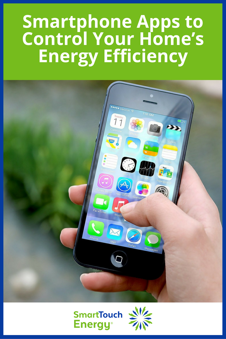 Smartphone Apps to Control Your Home's Energy Efficiency