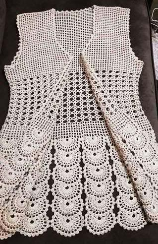 116 Tane Örgü Bayan Yelek Modelleri Hepsi Birbirinden Güzel Örgü Bayan Yelek Modeli 3 #crochetsweaterpatternwomen