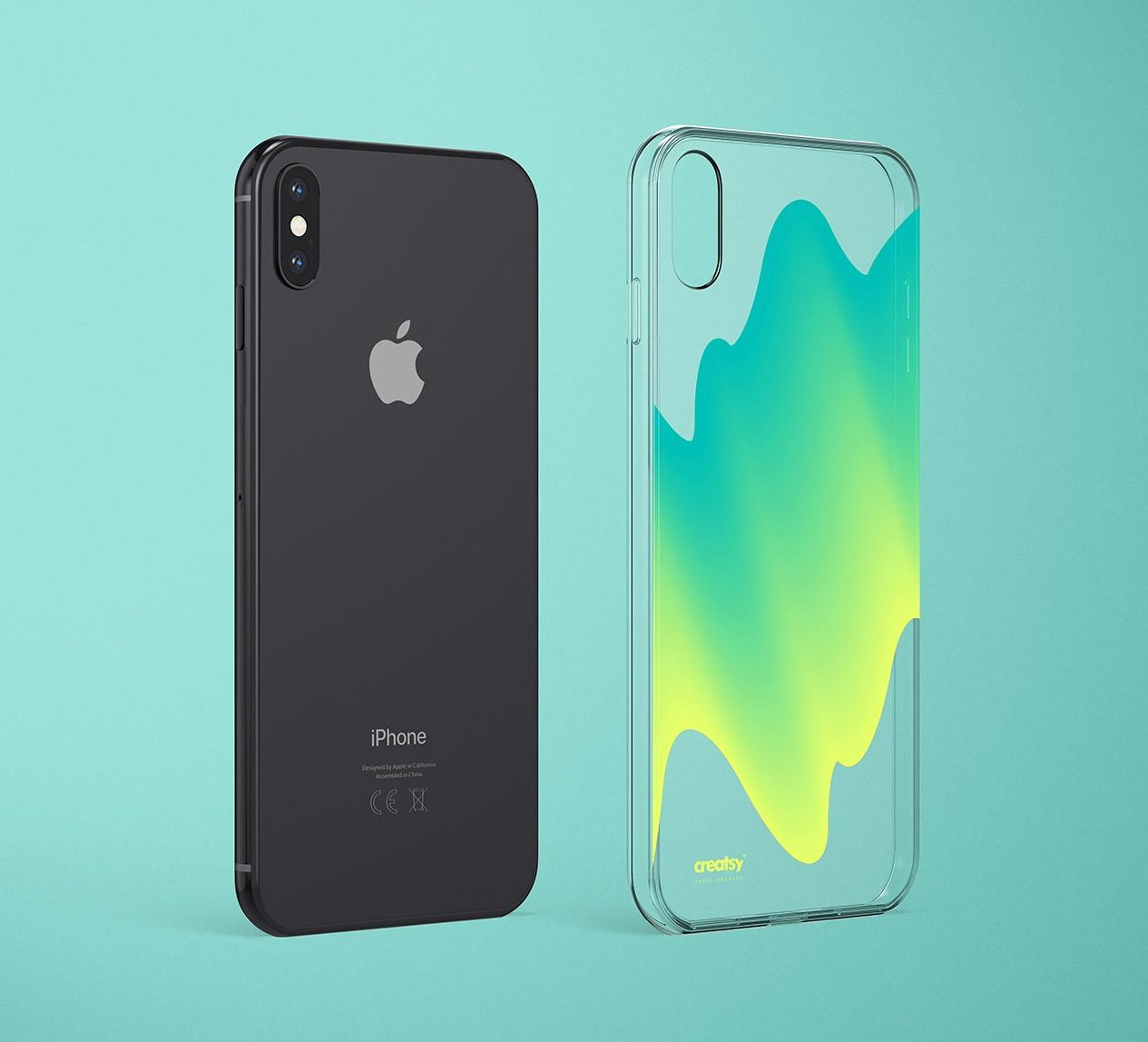 Download Iphone Xs Max Clear Case Mockup Set Iphone Clear Cases Case