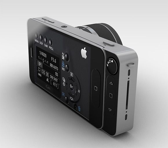 Apple Icam Concept I Want This Too Bad It S Not For Sale Yet Iphone Lens Photo Lens Iphone