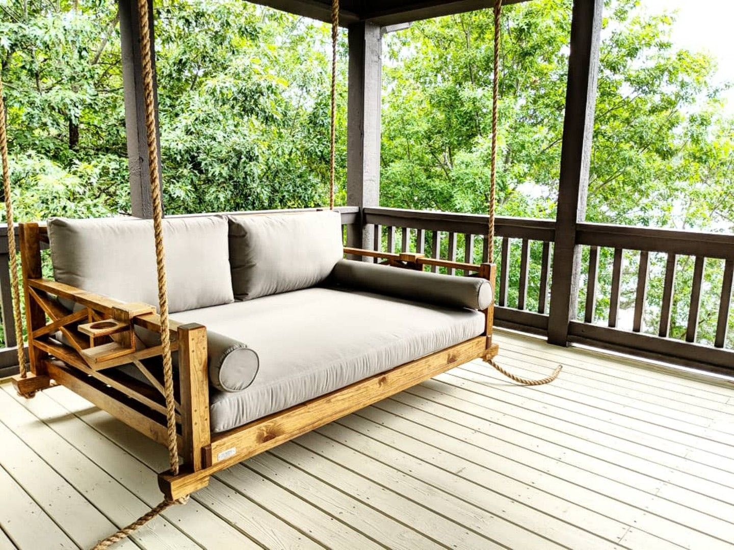 Free Diy Porch Swing Plans Ideas To Chill In Your Front Porch Porch Swing Bed Bed Swing Porch Swing