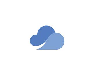 Clowd By Mihisdesign Graphic Design Logo Logo Design Typography Logo Design Creative