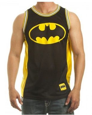 Batman T-Shirt – Bioworld Men's Batman Logo Jersey Tank