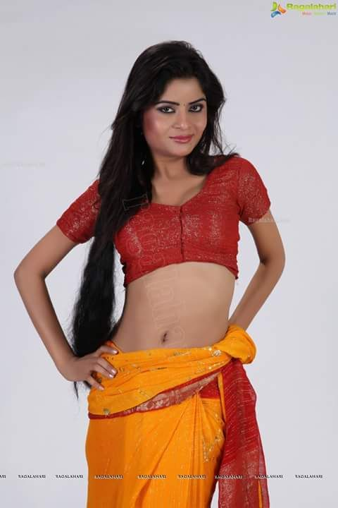Indian girl showing everything