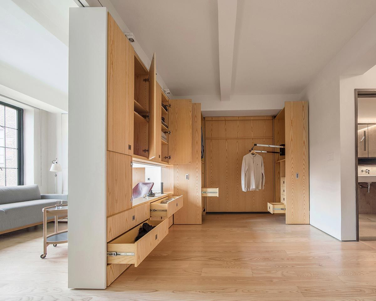 The small pivot apartment was recently celebrated as most innovative interior space by institute honor awards for architecture also rh za pinterest