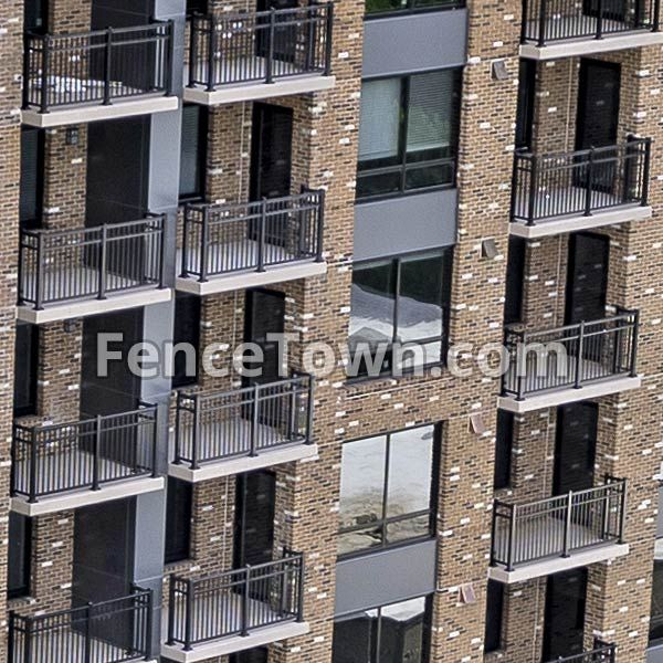 Best Gilpin Fairfield Aluminum Railing Is Great For Around Your 640 x 480