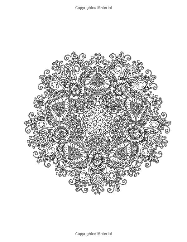 Amazon.com: Mandalas to Color - Intricate Mandala Coloring ...