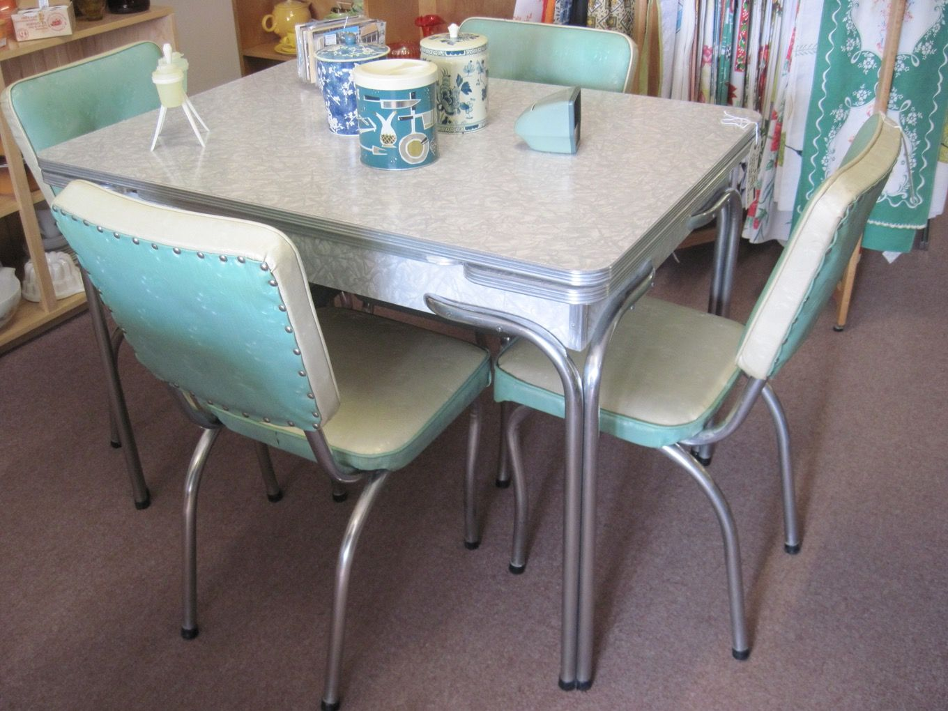 Retro Kitchen Table And Chairs For Sale  Stuhlede.com  Retro