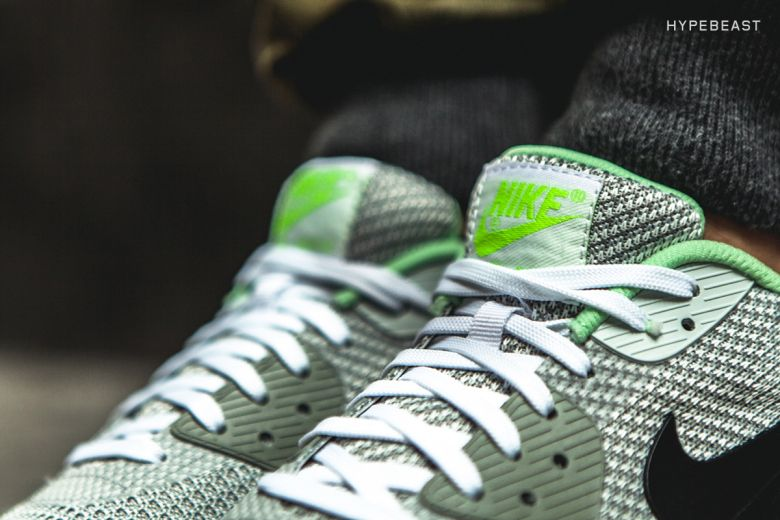 new products 5d7b6 ee8a6 Nike Air Max 90 Knit Jacquard ICE QS