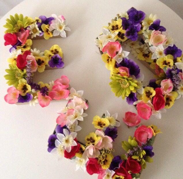 Gorgeous letters