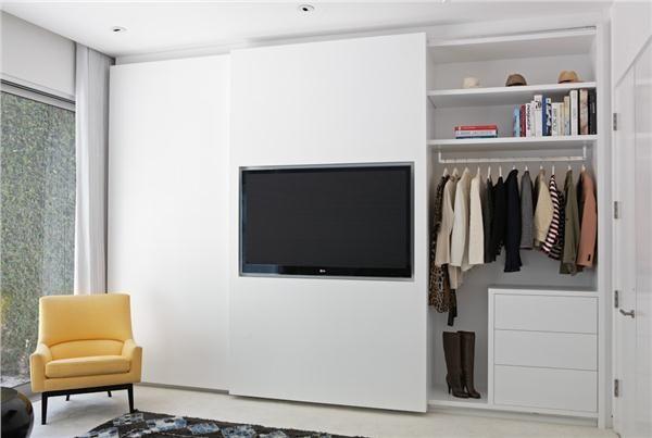 Image Result For Bedroom Tv Closet