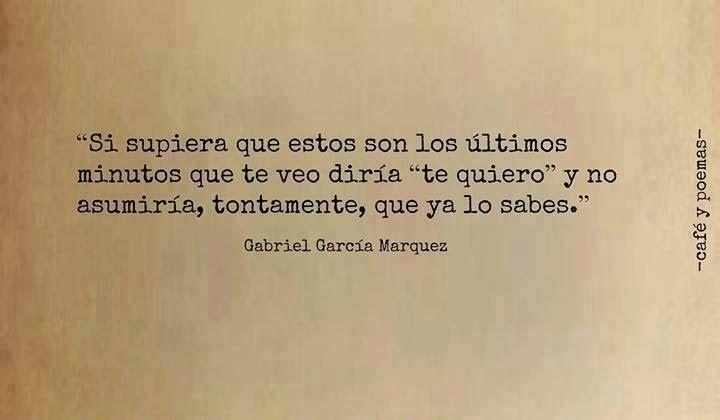 Resultado De Imagen Para Frases De Gabriel Garcia Marquez El Amor En