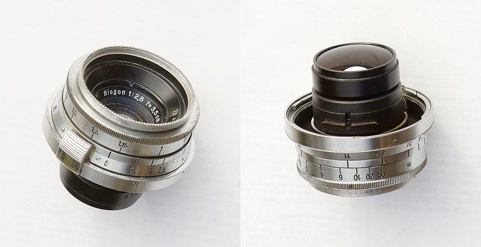 Zeiss Biogon 35 mm f28 | Carl Zeiss (Jena) Biogon