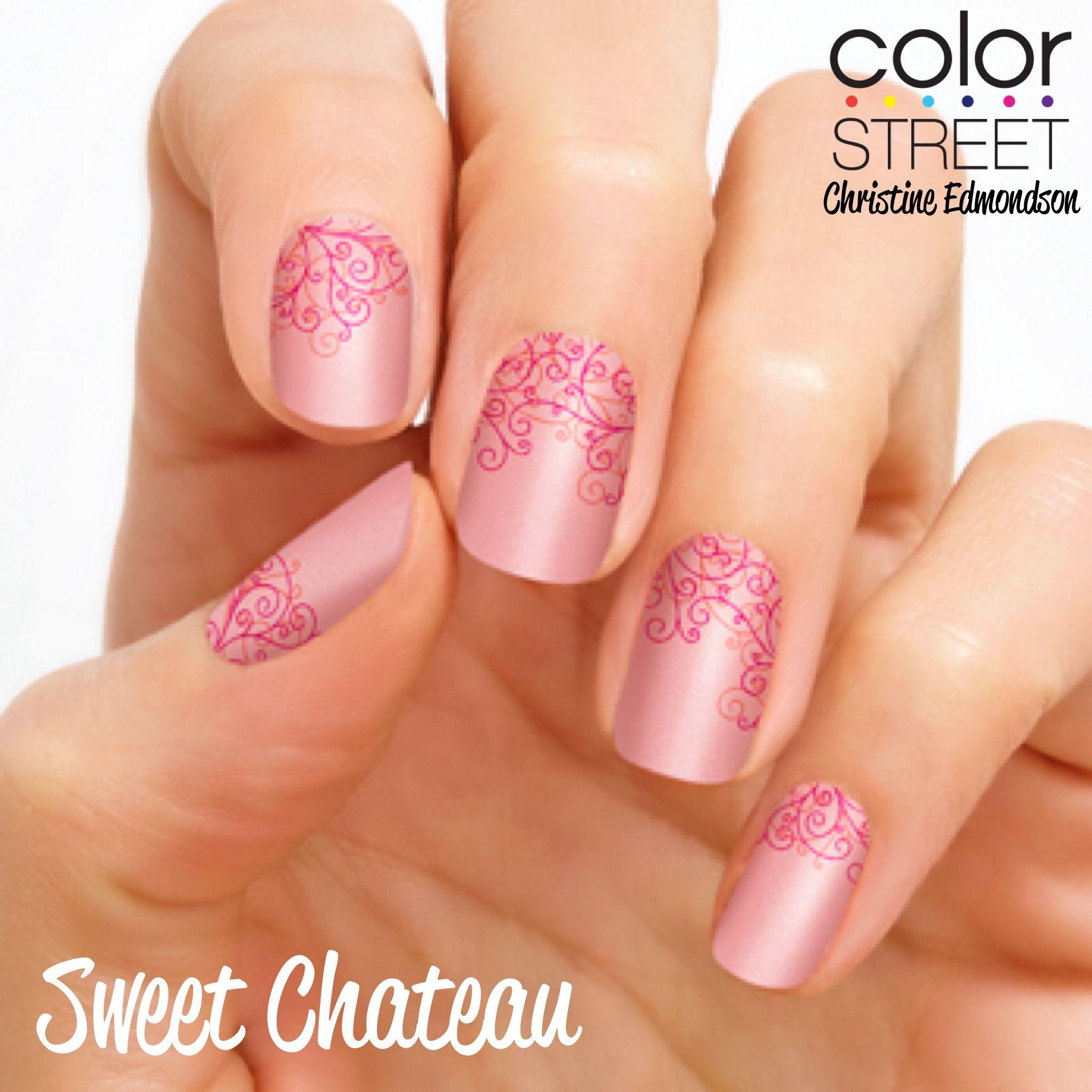 Sweet Chateau - 100% nail polish strips that require NO tools, NO ...